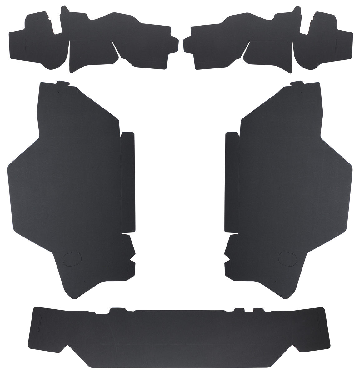 Trunk Board Set, 1965-66 Cadillac Coupe