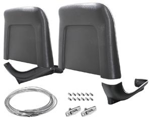 Seatback/Base Kit, 1967-68, Strato Bench