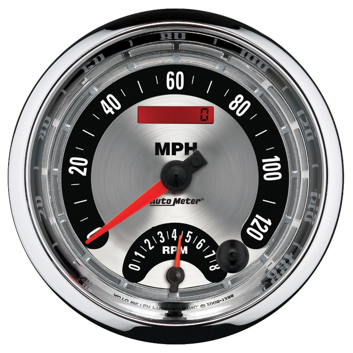 Gauge, Speedometer/Tachometer Combo, Auto Meter, American Muscle, 5