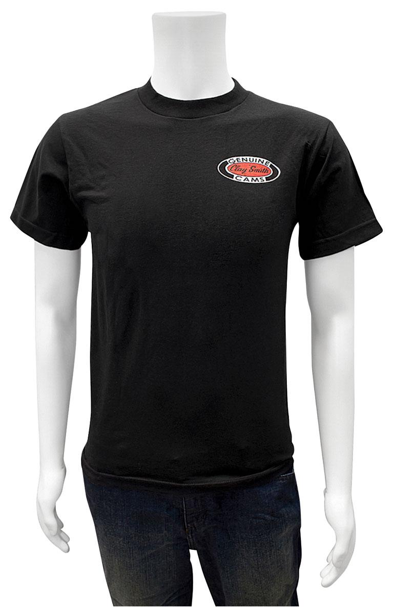 Shirt, Clay Smith Cams on Checkered Flag, Black