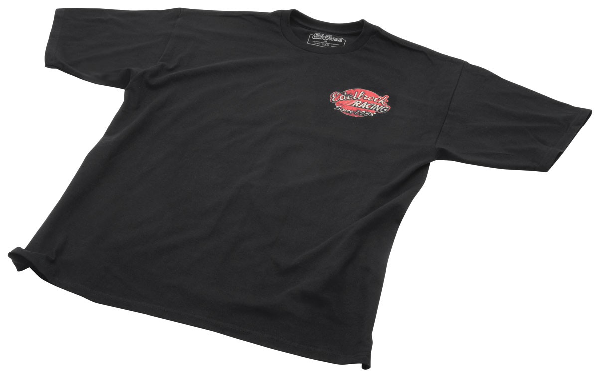 Shirt, Edelbrock Vintage Roadster, Black