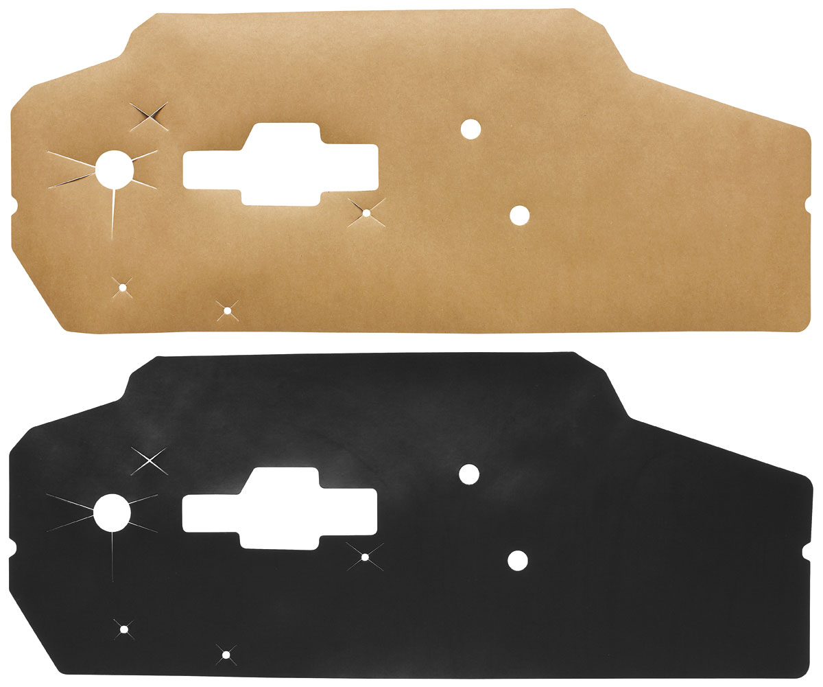 Water Shields, 1971-76 Bonneville/Catalina 2dr, Front/Rear
