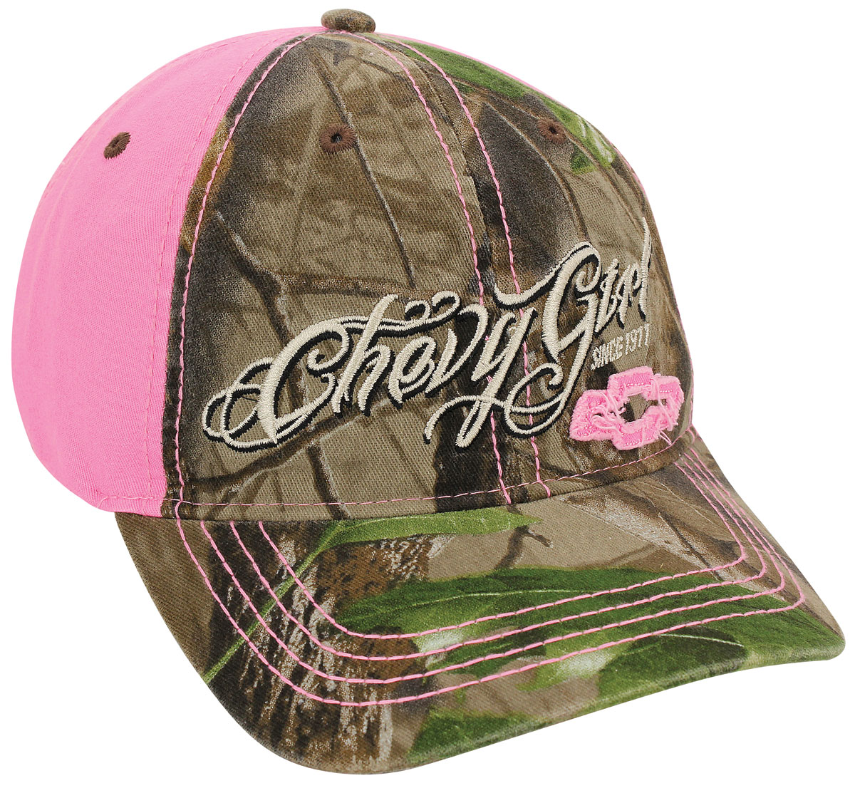 Hat, Chevy Girl Camouflage with Bowtie