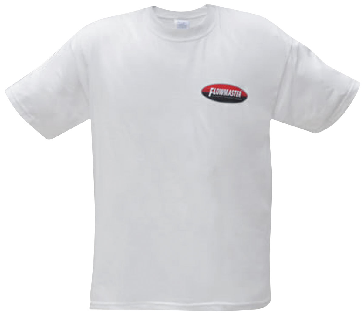 Shirt, Flowmaster Oval Tee, White