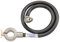 Battery Cable, Spring Ring, Negative, 61-62 Bonn/Cat/GP w/o AC/1963 w/ or w/o AC