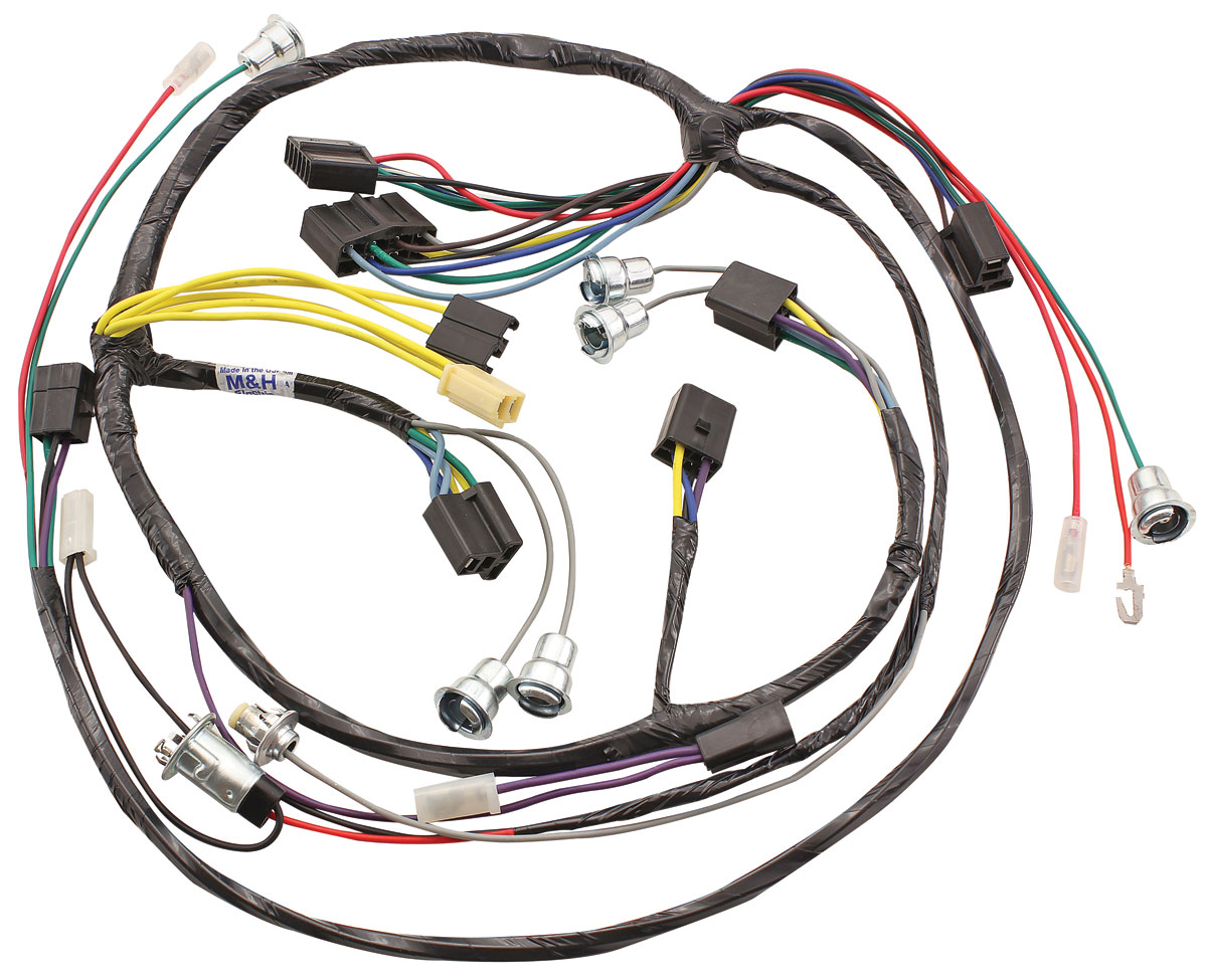 Wiring Harness, Dash, 1960 Cadillac, Lower Instrument Cluster, w/AC