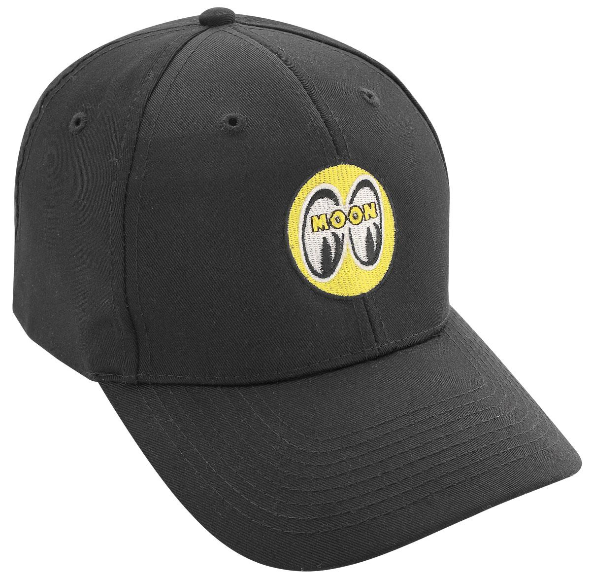 Hat, Mooneyes, Black