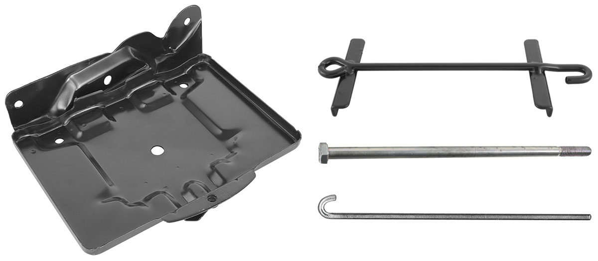 Battery Tray Kit, 64-65 Chevelle & El Camino