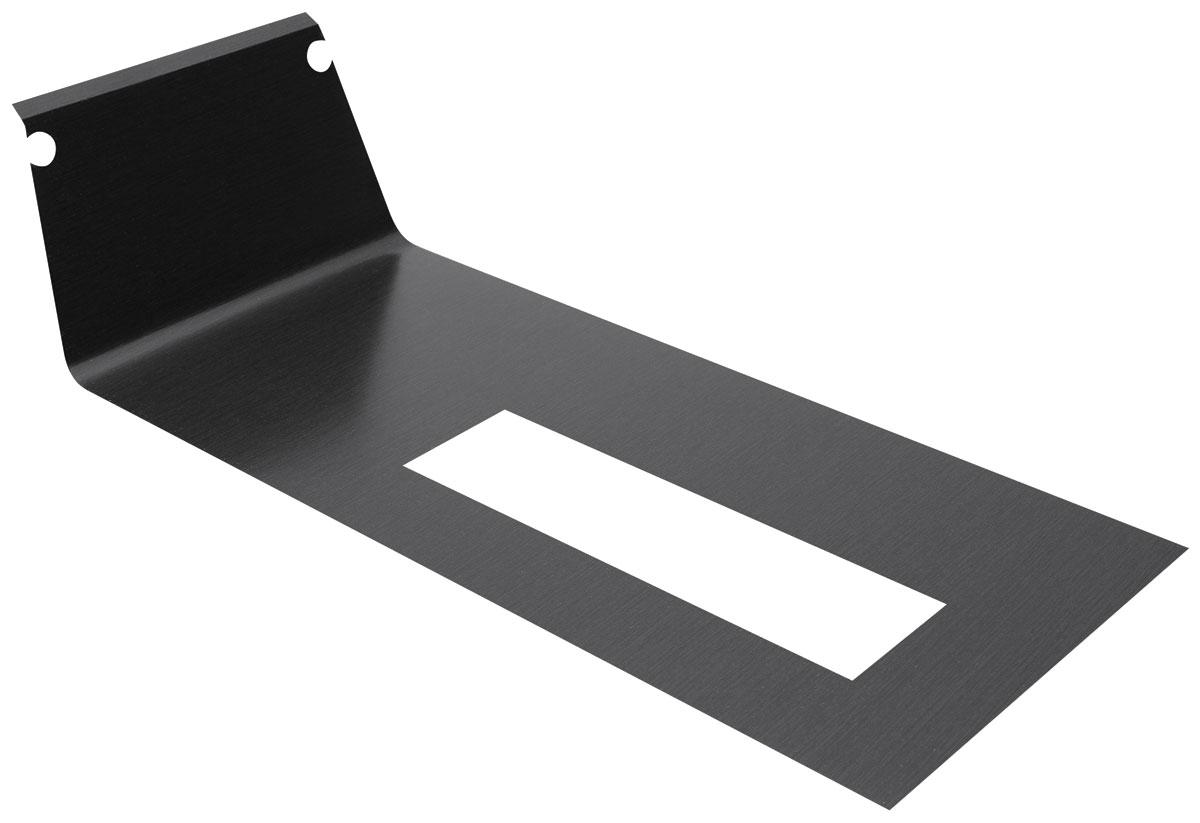 Trim Plate Insert, Console, 1985 G-Body, Black