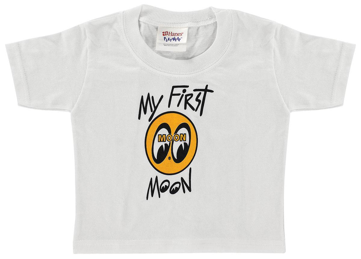 T-Shirt, 24MO, Mooneyes, White