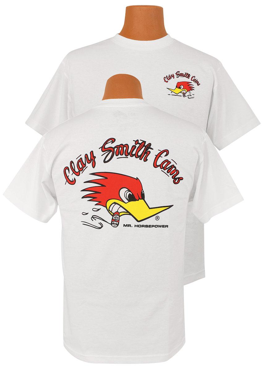 Shirt, Clay Smith Cams, White