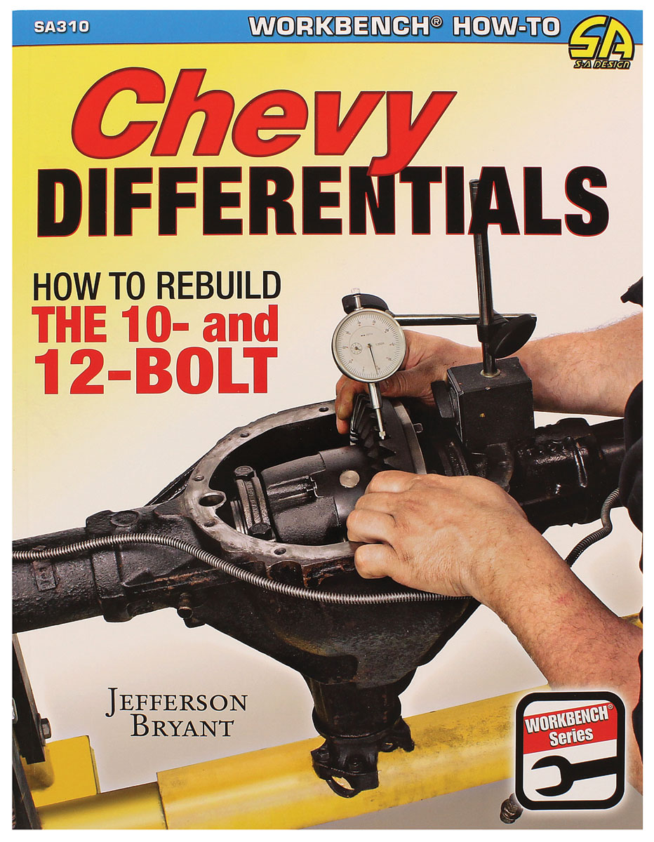 Book, Chevrolet Differentials, How to Rebuild the 10 and 12 Bolt