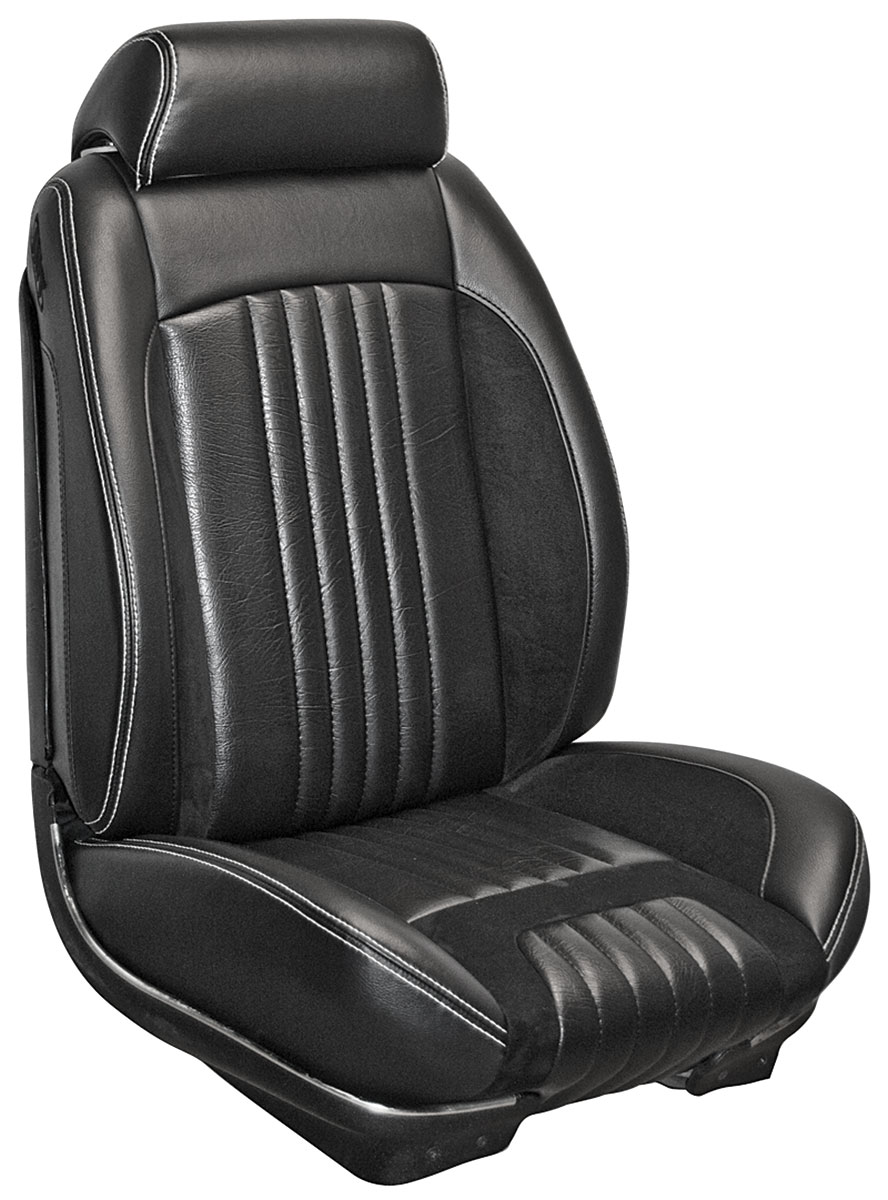 Seat Upholstery Kit, TMI Sport R, 1971-72 Chevelle/El Camino, Front Buckets Only