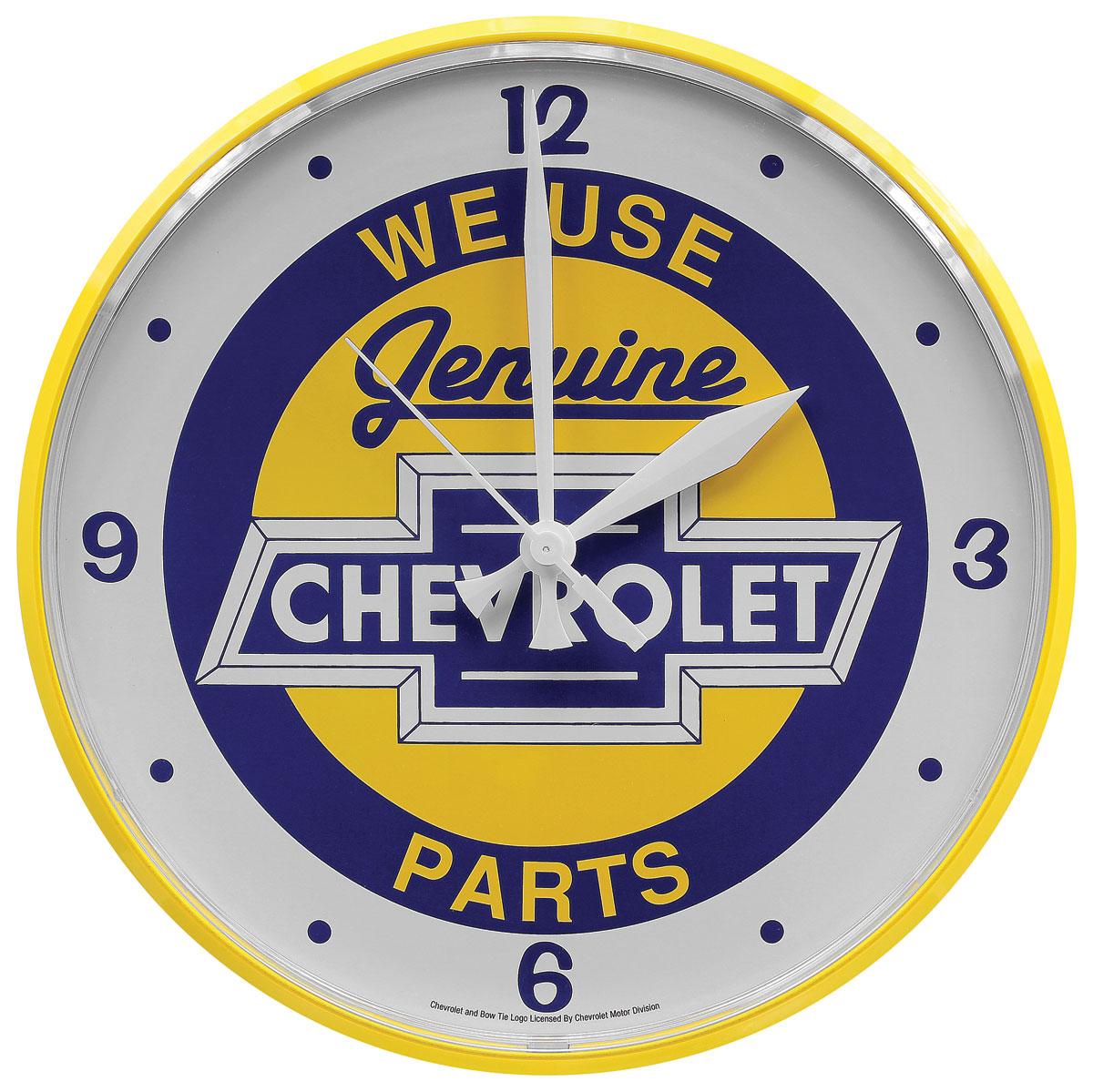 Clock, Genuine Parts Chevrolet