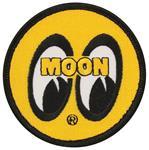Patch, Mooneyes, Yellow
