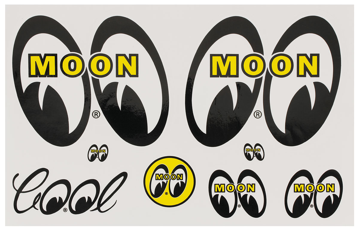 Decal Sheet, Mooneyes, Original