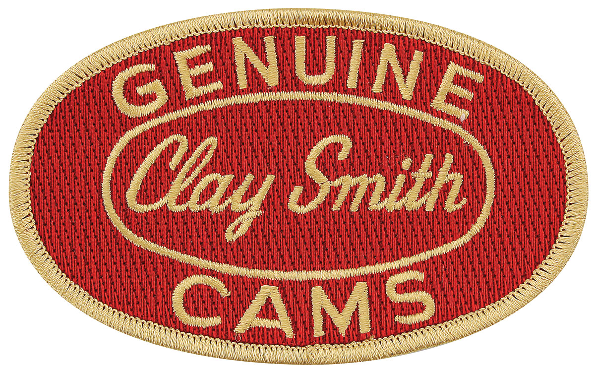 Patch, Clay Smith, Red/Gold, 4