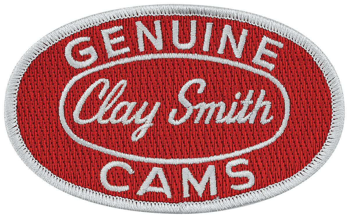 Patch, Clay Smith, Red/Silver, 4
