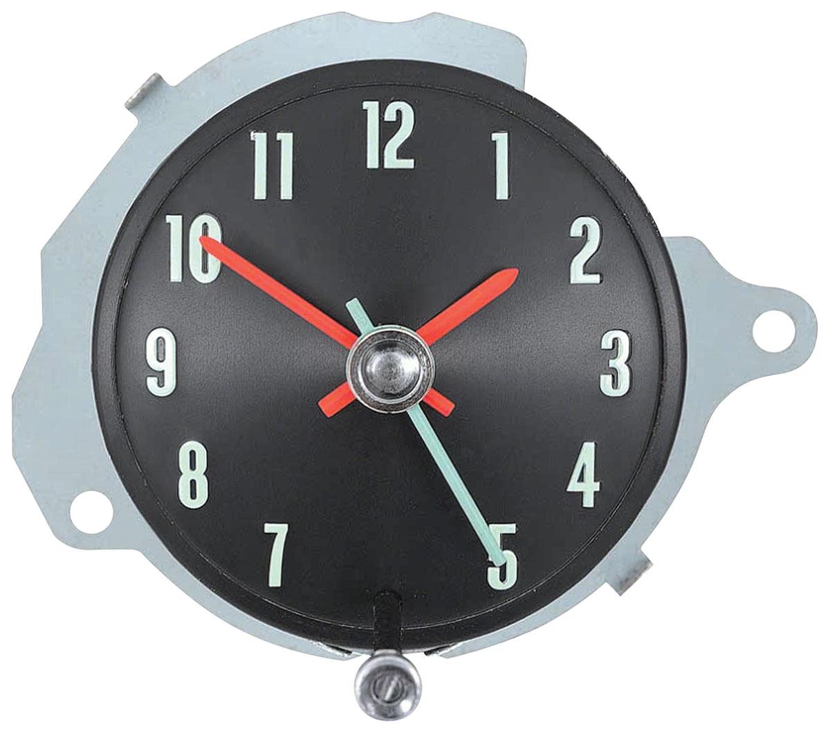 Clock, 1968 Chevelle/El Camino, In Dash, w/ Warning Lights