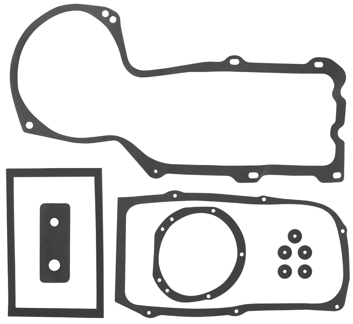 Heater Box Seal Kit, 1964-72 A-Body/1966-72 Bonn/Cat/GP, w/o AC