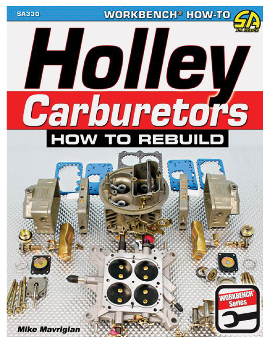 Book, Holley Carburetors, How To Rebuild