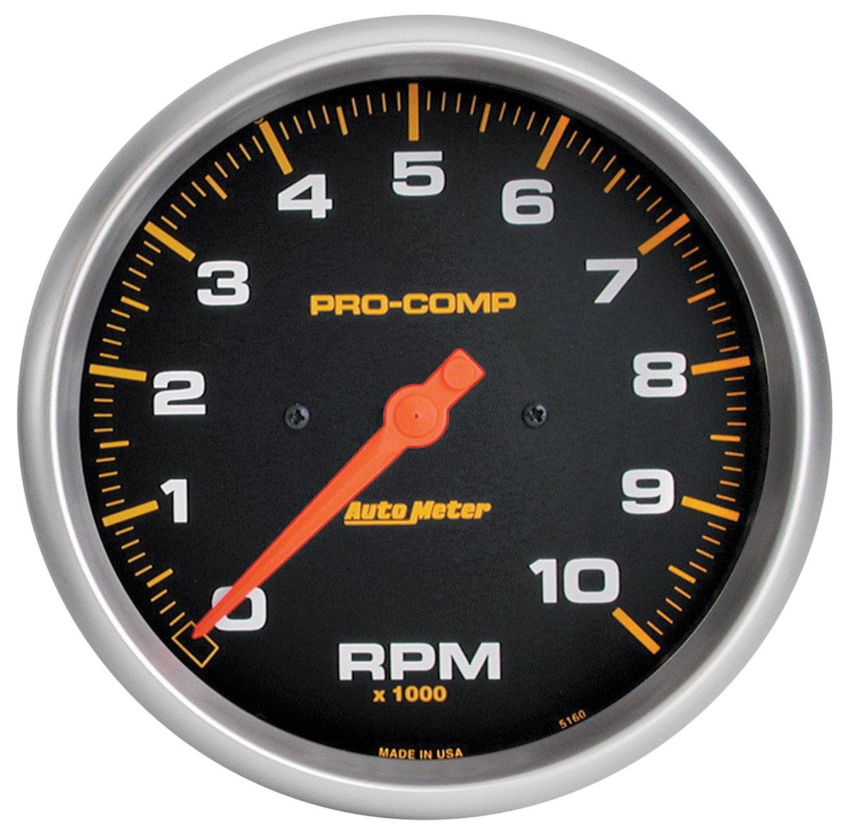 Gauge, Tachometer, Auto Meter, Pro-Comp, 5