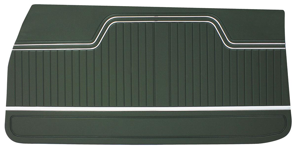 Door Panels, 1970-72 Chevelle - Coupe/Convertible, El Camino Front LEG
