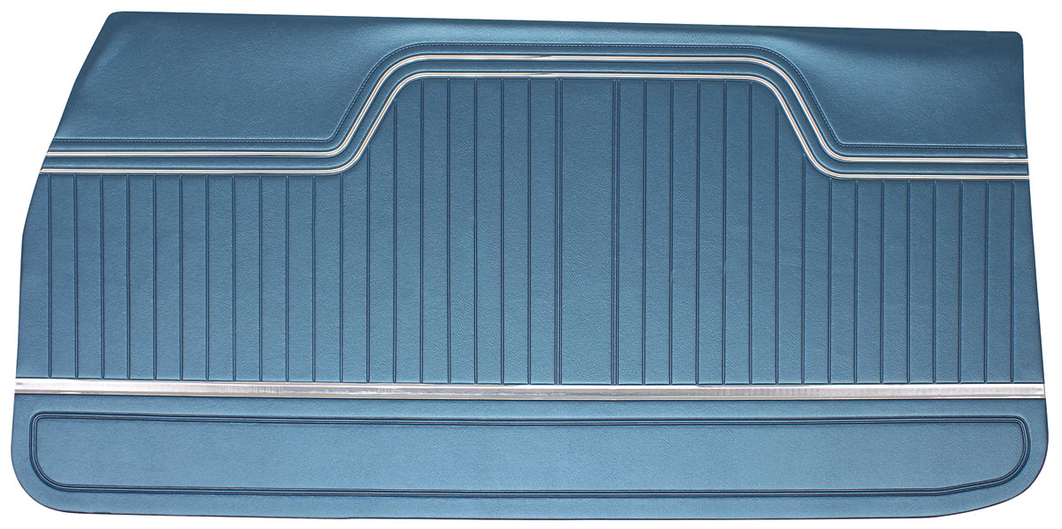Door Panels, 1970-72 Chevelle - Coupe/Convertible, El Camino Front PUI