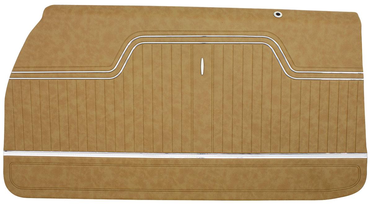 Door Panels, 1970-72 El Camino, Front, Assembled PUI