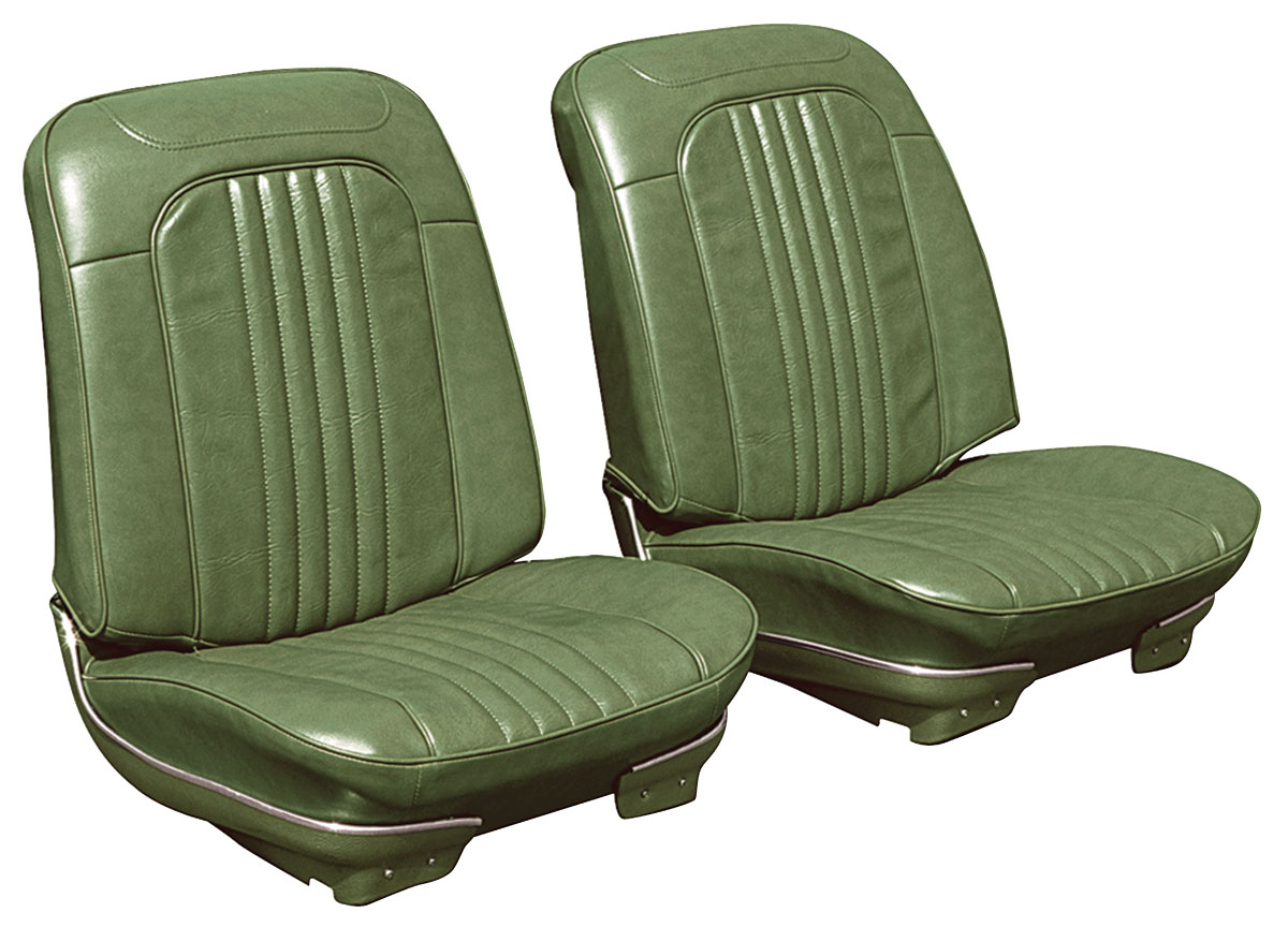 Seat Upholstery, 1971-72 Chevelle, Front Buckets LEG