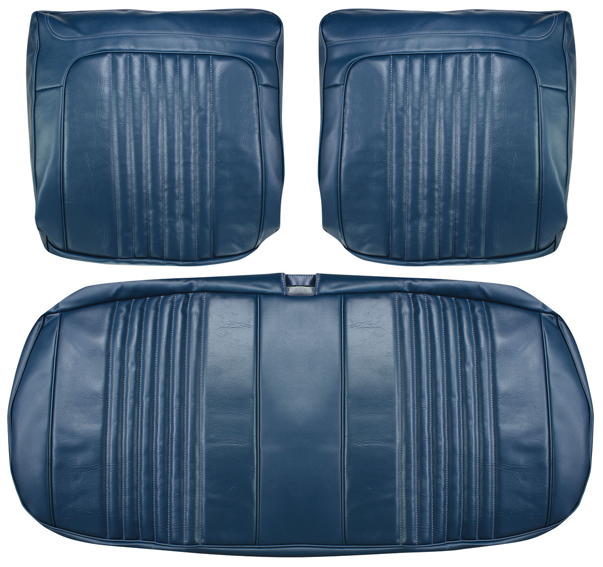 Seat Upholstery, 1971-72 Chevelle/El Camino, Front Split Bench PUI
