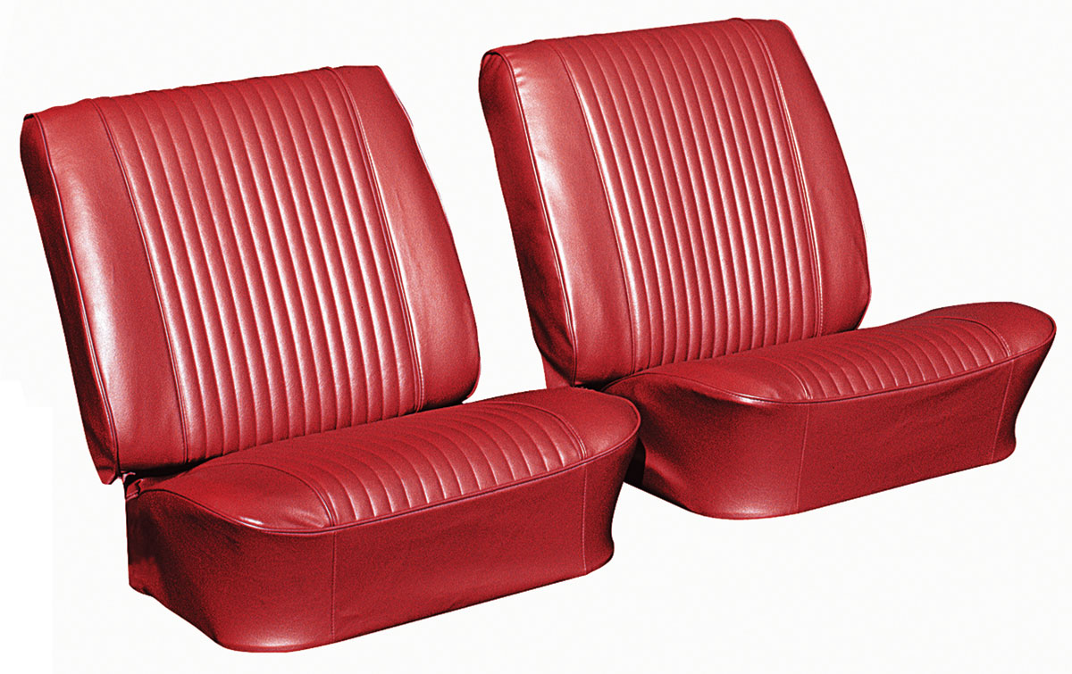 Seat Upholstery Kit, 1964 Chevelle/El Camino, Front Buckets PUI