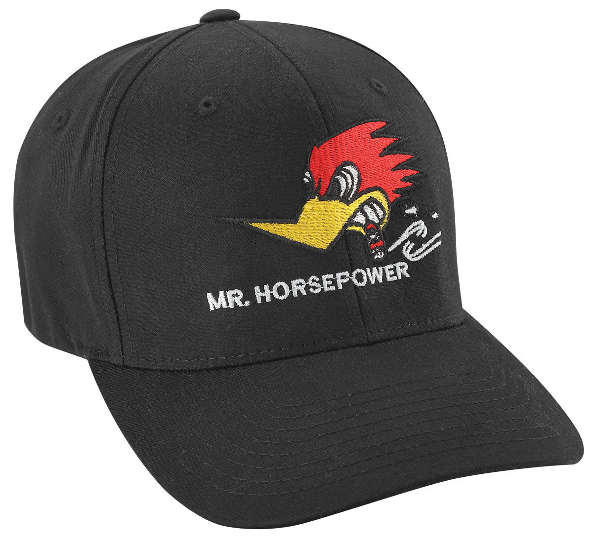Hat, Mr. Horsepower Centered, ProFit, Black