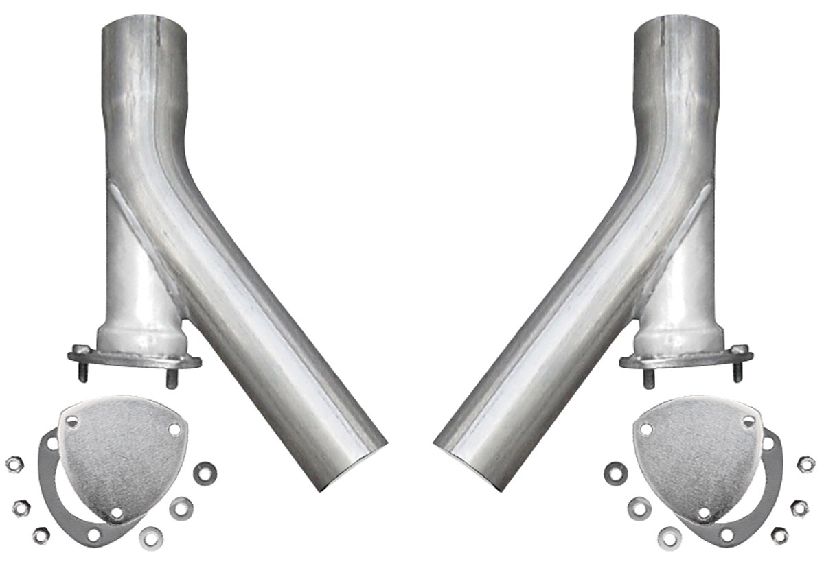"""Exhaust Outlets, All, 3.0"""" w/ X-Pipe Dumps"""