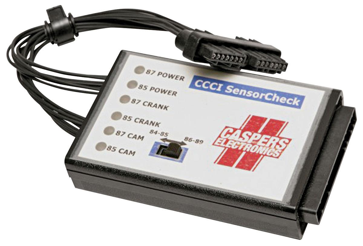 Diagnostic Tool, CCCI Sensor Check, 1984-87