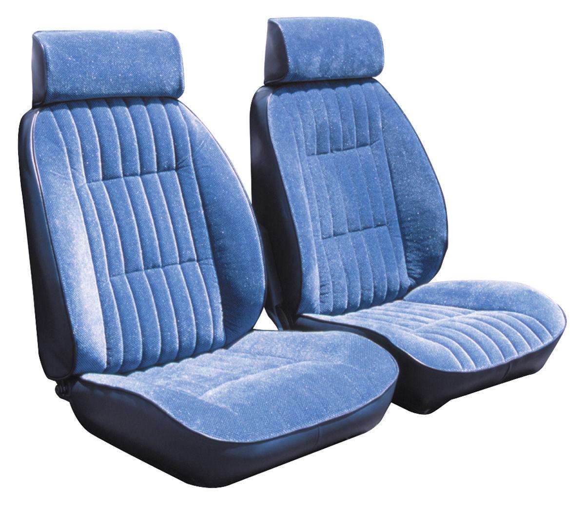 Peachy Seat Upholstery 1984 87 El Camino Reclining Front Buckets Regal Cloth Inzonedesignstudio Interior Chair Design Inzonedesignstudiocom