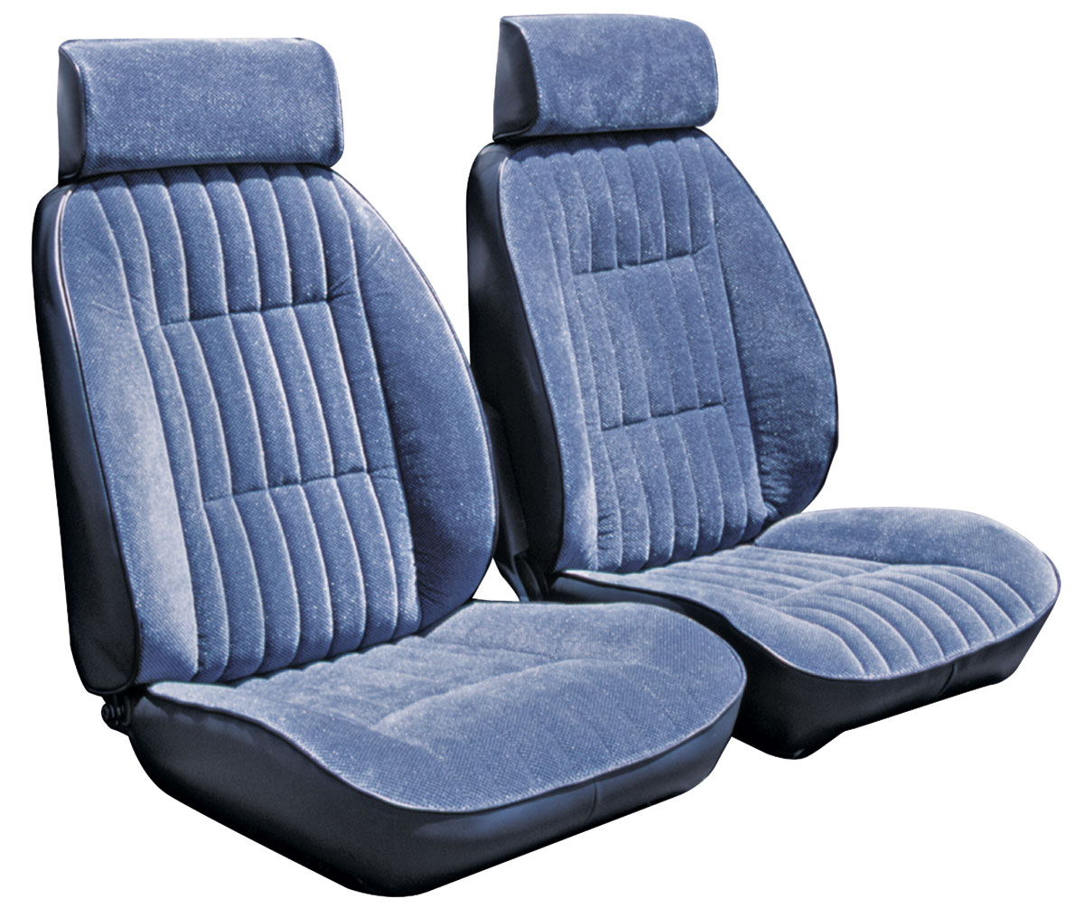 Seat Upholstery Kit, 1984-88 MC, Reclining Front Buckets/Rear, Regal Cloth