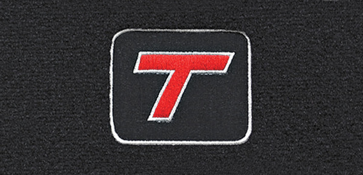 Floor Mats, Cutpile, 1982-87 Buick G-Body, Turbo-T Logo