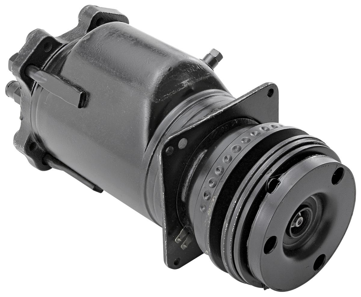 """AC Compressor, 1977-79 EC/MC/MAL/GP, A6 w/ Clutch, 5"""" Pulley"""