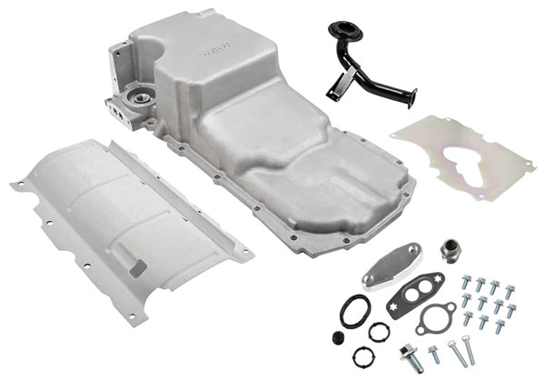Swap Kit, Gen V LT Retro-Fit Oil Pan, Holley, 1964-73 A-Body/1978-88 G-Body