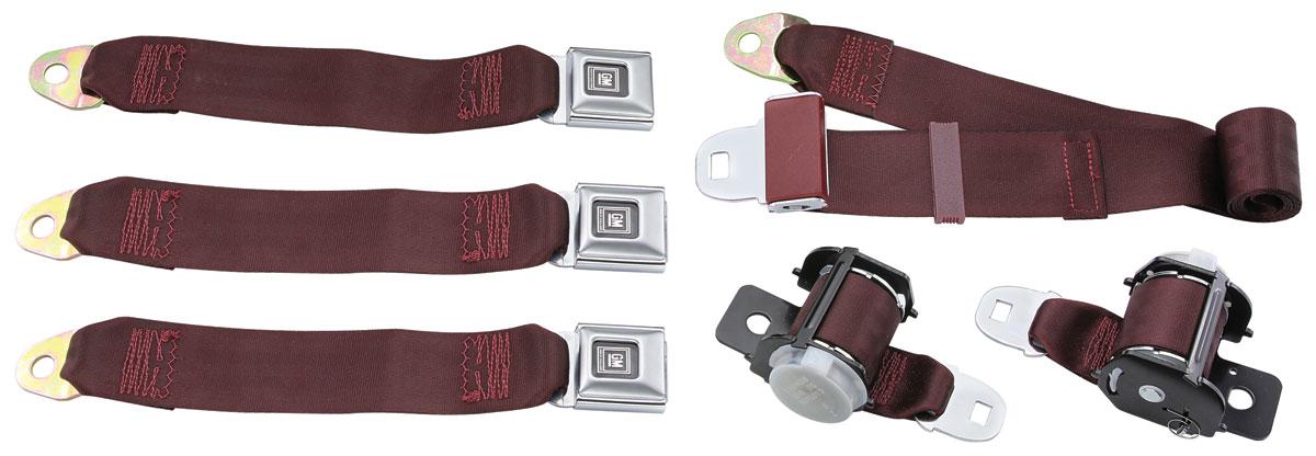 Seat Belts, 78-88 G-Body, Retractable, Rear