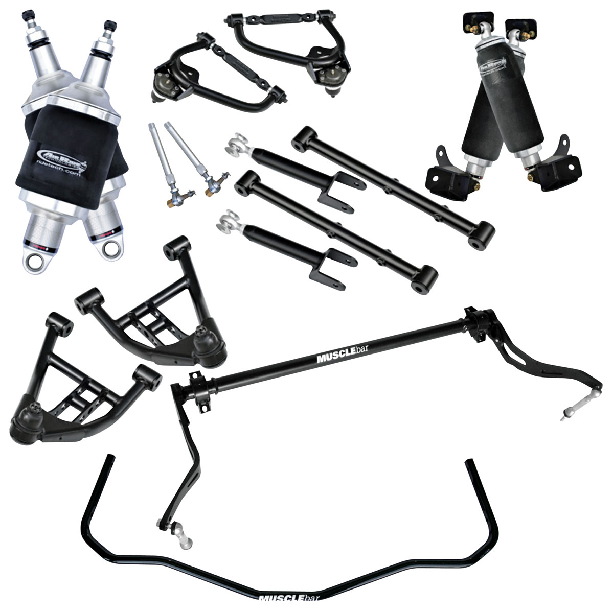 Air Suspension Kit, RideTech, 1978-88 G-body