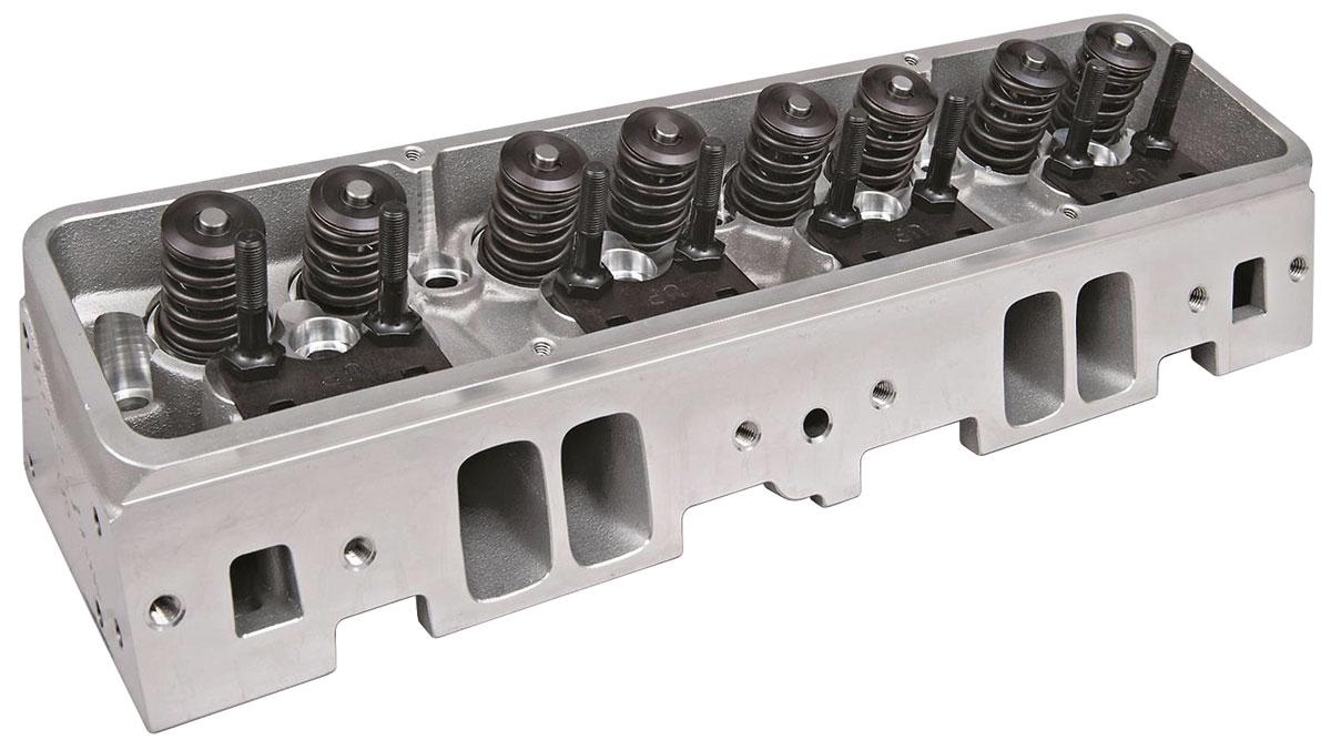 Cylinder Head, Trick Flow, Super 23, 195CC, SBC, Alum., Std. Chamber, MF/HF