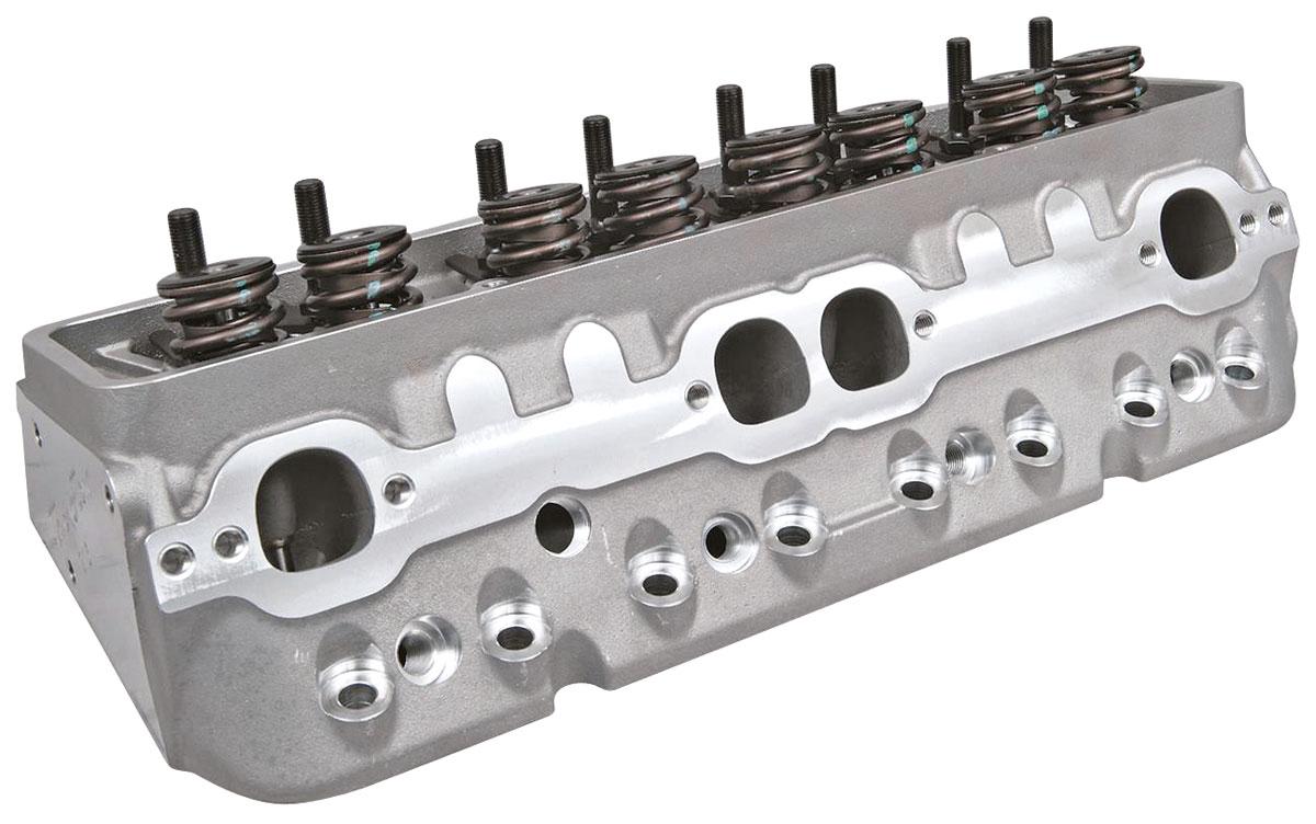 Cylinder Head, Trick Flow, Super 23, 215CC, SBC, Alum., Std. Chamber, HR