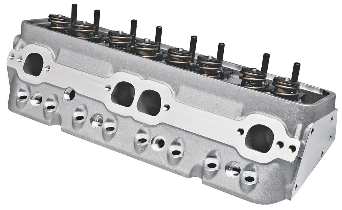 Cylinder Head, Trick Flow, Super 23, 195CC, SBC, Alum., CNC Chamber, MF/HR