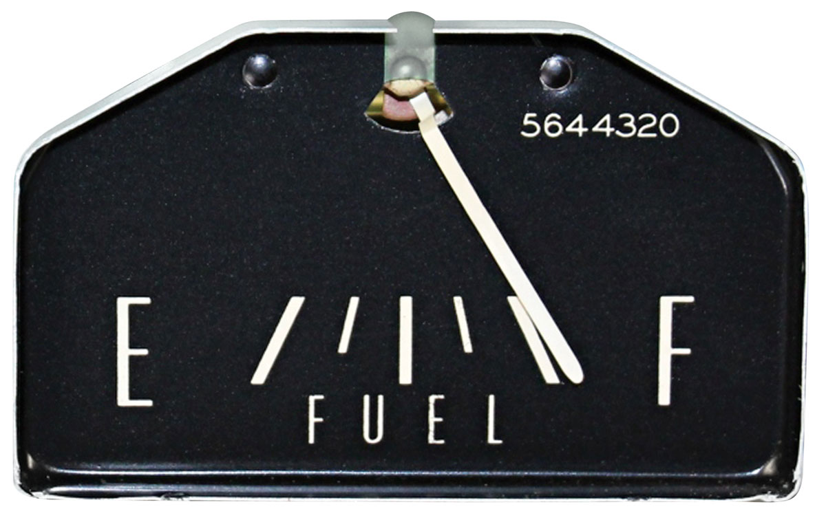 Gauge, Fuel, 1963-64 Cadillac & 1965 Series 75/CC