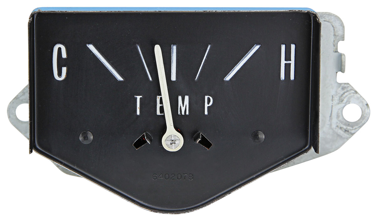Gauge, Temperature, 1965-66 Cadillac exc 1965 Series 75/CC