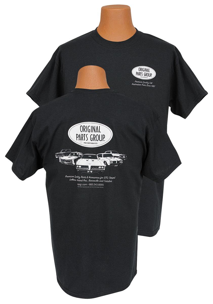 Shirt, OPGI Pontiac, Black Tee
