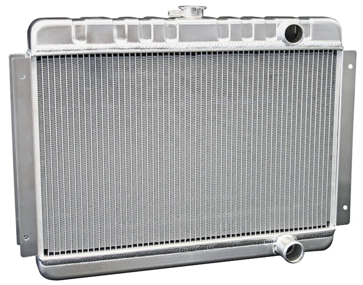 Radiator, Aluminum, DeWitts, 1964-65 Chevelle/El Camino SB, MT