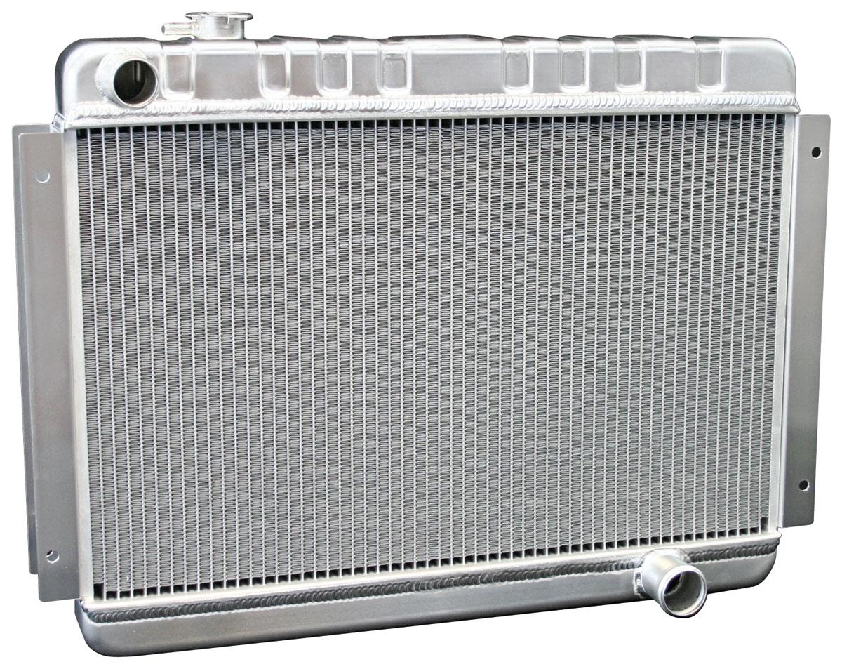 Radiator, Aluminum, DeWitts, 1966-67 Chevelle/El Camino SB/BB, MT